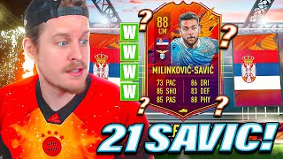 THE KING IS BACK! 88 HEADLINER SAVIC PLAYER REVIEW! FIFA 21 Ultimate Team
