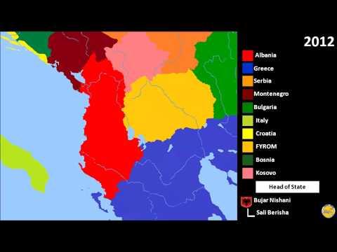 History of Albania (1910-2016)
