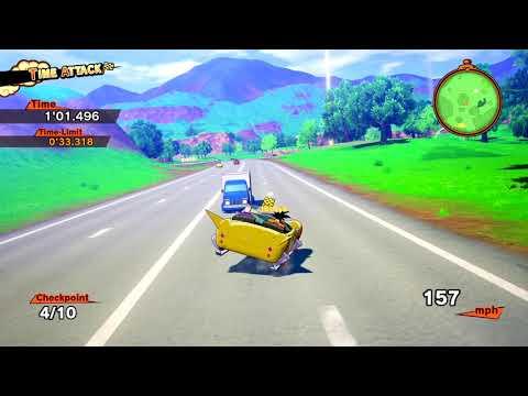 Goku Driving Exam Minigame Gameplay! Dragon Ball Z: Kakarot