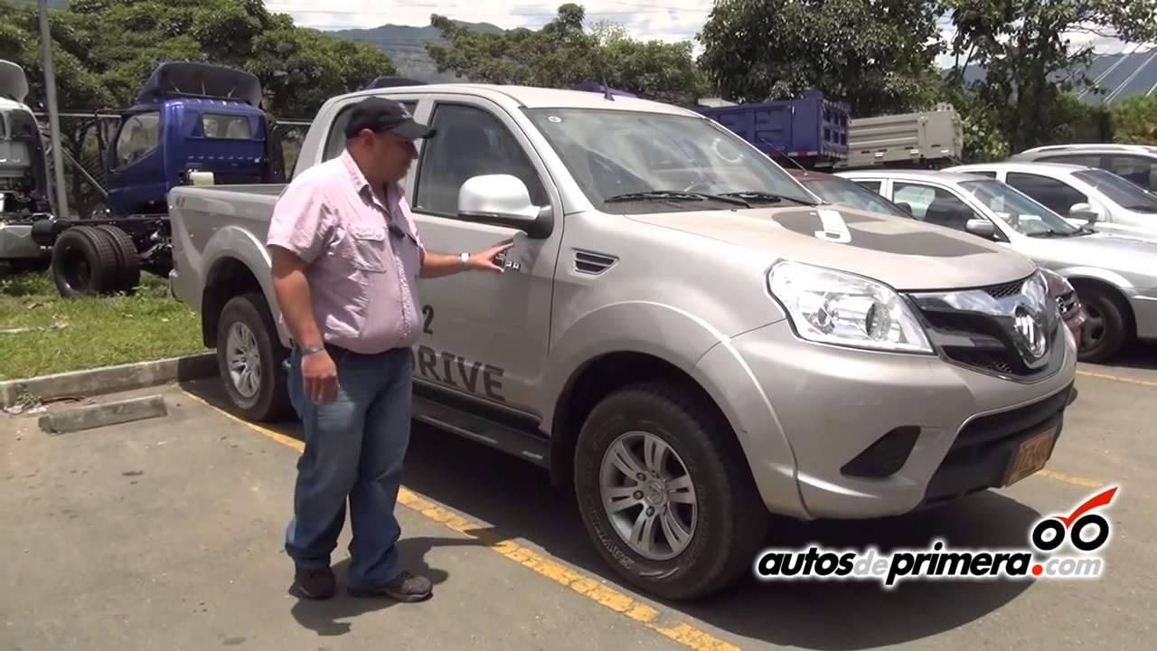 Foton tunland lleg a colombia la nueva pick up doble cabina