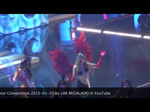 Miss Universe 2014 Top 15 Swimsuit Competition 2015-01-25