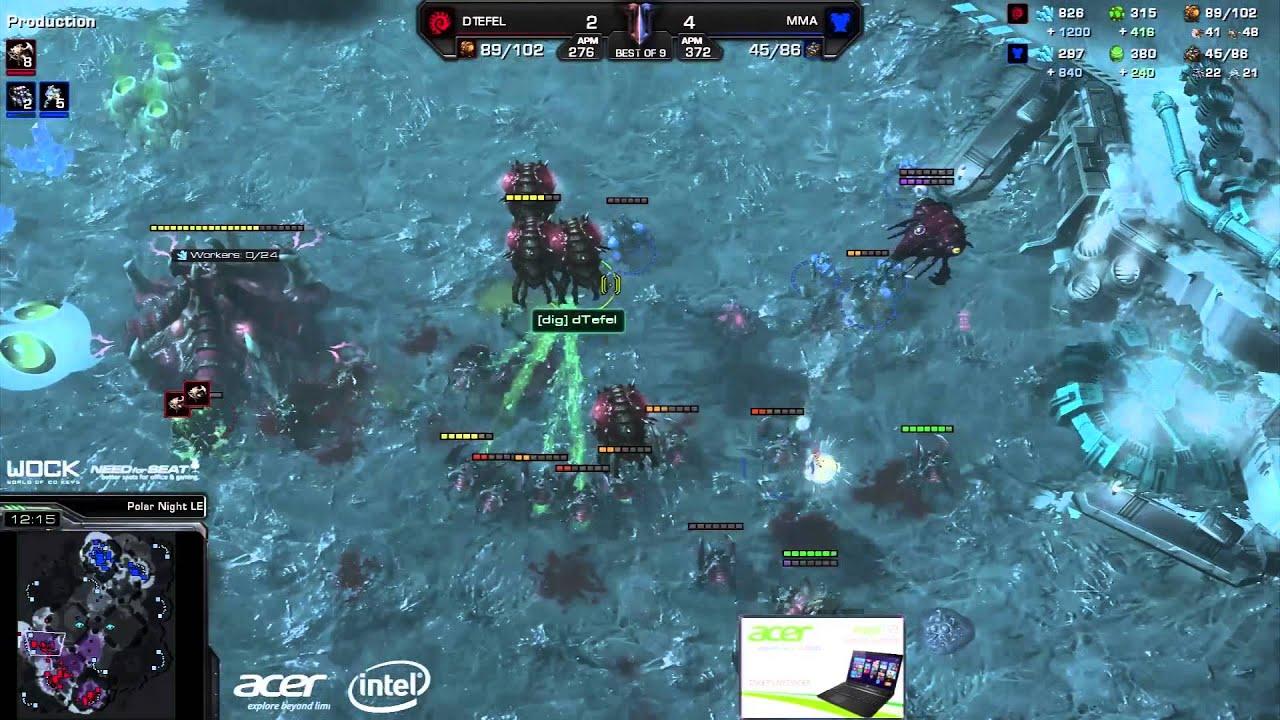 MMA vs. Tefel #2 (ATC) - Acer vs. coLDignitas - Game 7 - StarCraft 2