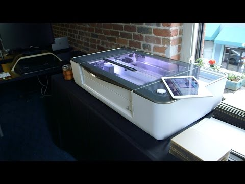Meet the Glowforge 3D Laser Printer