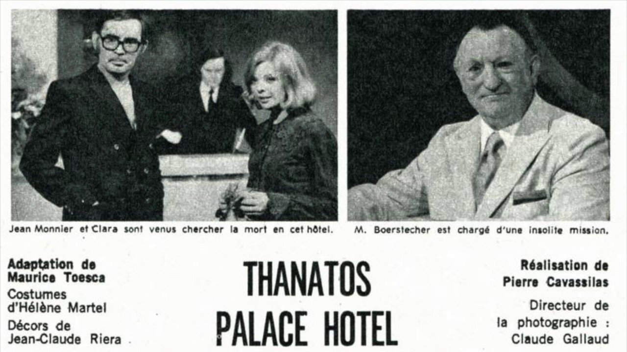 thanatos palace hotel Find and watch the alfred hitchcock hour episode 15 - thanatos palace hotel (s3 e15) tune-in to the alfred hitchcock hour episode.