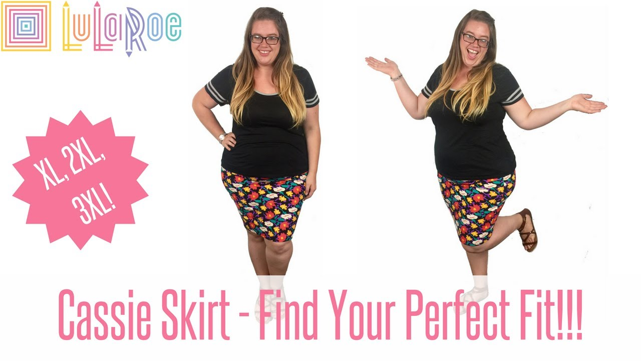 046ab44e8c2 LuLaRoe Cassie Skirt - Sizing and Try on! Find Your Fit! Plus Sizes ...