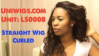 Uniwigs Remy Hair | Straight Hair Curled! Thumbnail