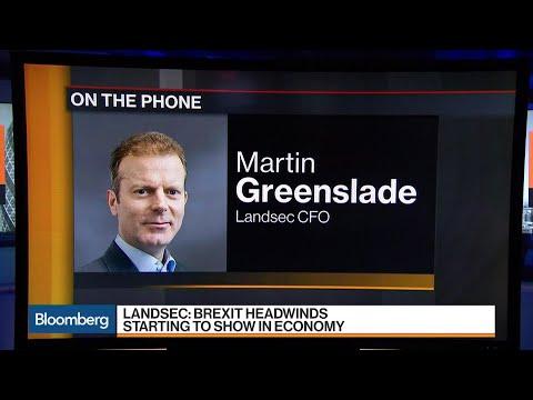 Landsec's CFO Sees Slowing in U.K.'s Retail Economy