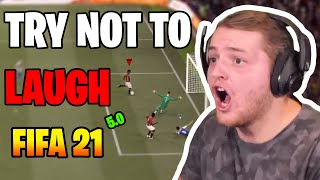 Best of Trymacs | FIFA 21 - 5.0 | Try not to LAUGH 😂=🚫