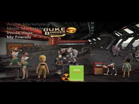 NEW DNF Xbox 360 Avatars/Themes and PS3 Themes and Duke Nukem Comic