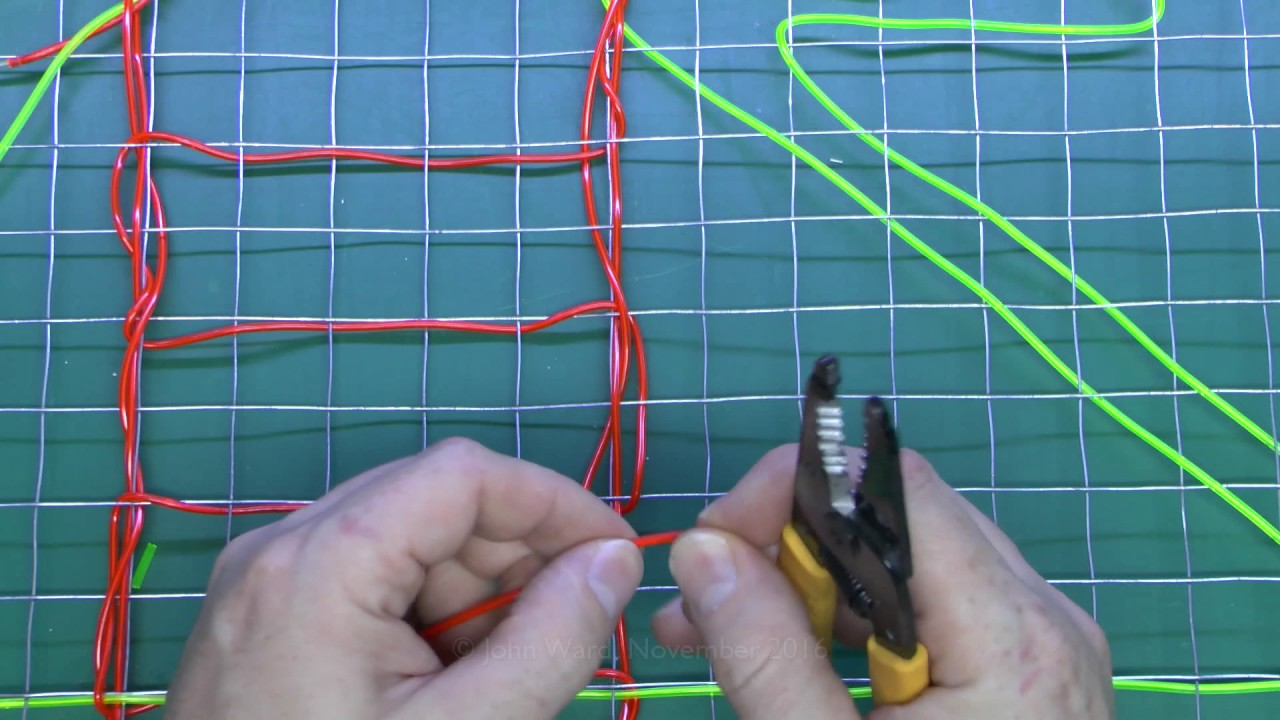 maxresdefault making el wire decorative panels youtube