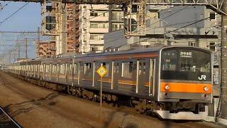 今日の205系•武蔵野線M17編成