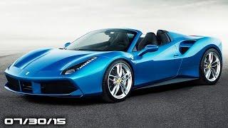 New Ferrari 488 Spider, Callaway Corvette Z06, Gmc Canyon Diesel - Fast Lane Daily