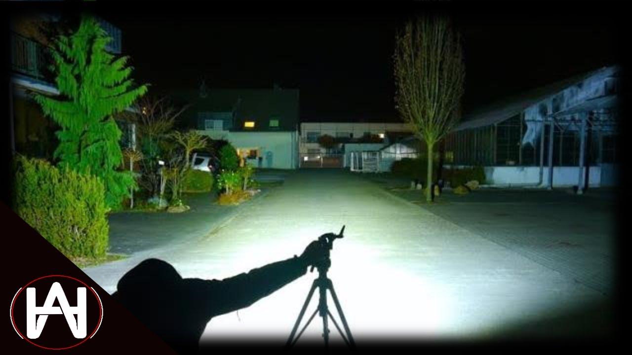Linterna Táctica Demasiado Peligrosa en Defensa 9500 Lumens TM9K