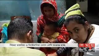 কনকনে ঠান্ডা বাতাসে রোগী সামলাতে হিমশিম নওগাঁর হাসপাতালের ডাক্তার | Naogaon Weather