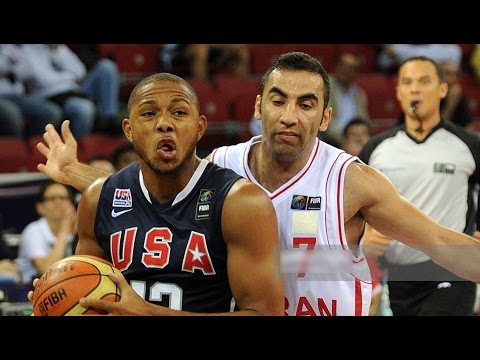 USA vs Iran 2010 FIBA World Basketball Championship Group Match HD 720p FULL GAME English