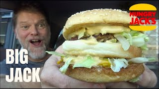 Hungry Jack's BIG JACK Burger Review