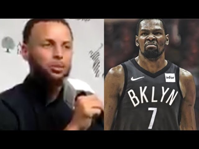 Steph Curry FINALLY REACTS To Kevin Durant Leaving The Golden State Warriors!