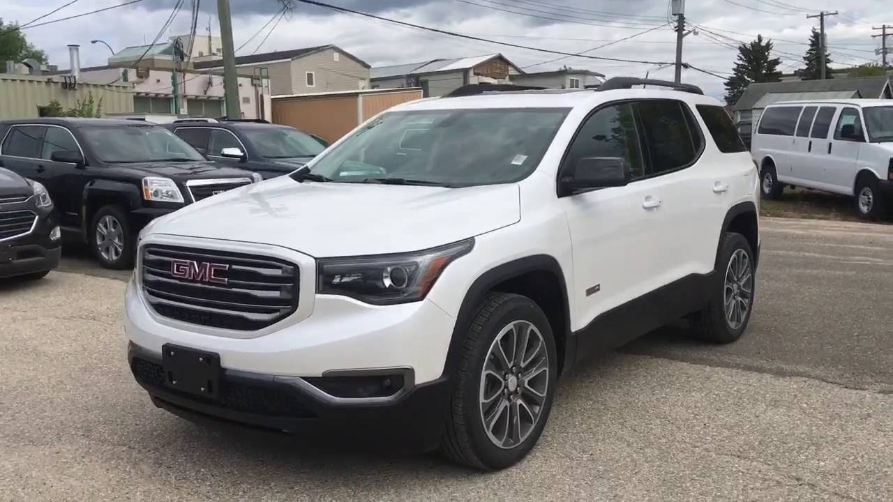 2017 Gmc Acadia All Terrain Editon Walk Around Murray Motors The Pas You