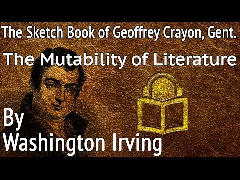 15 The Mutability of Literature by Washington Irving, unabri