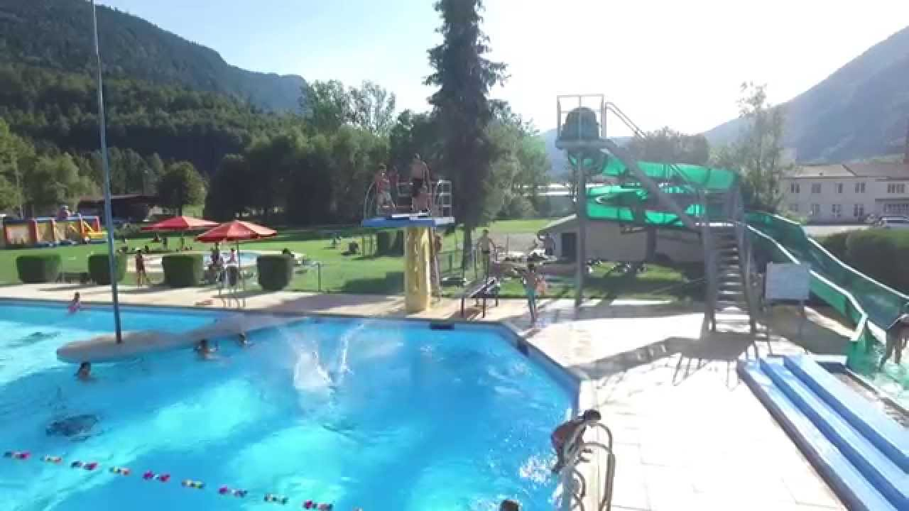 Piscine de vallorbe youtube for Piscine youtube