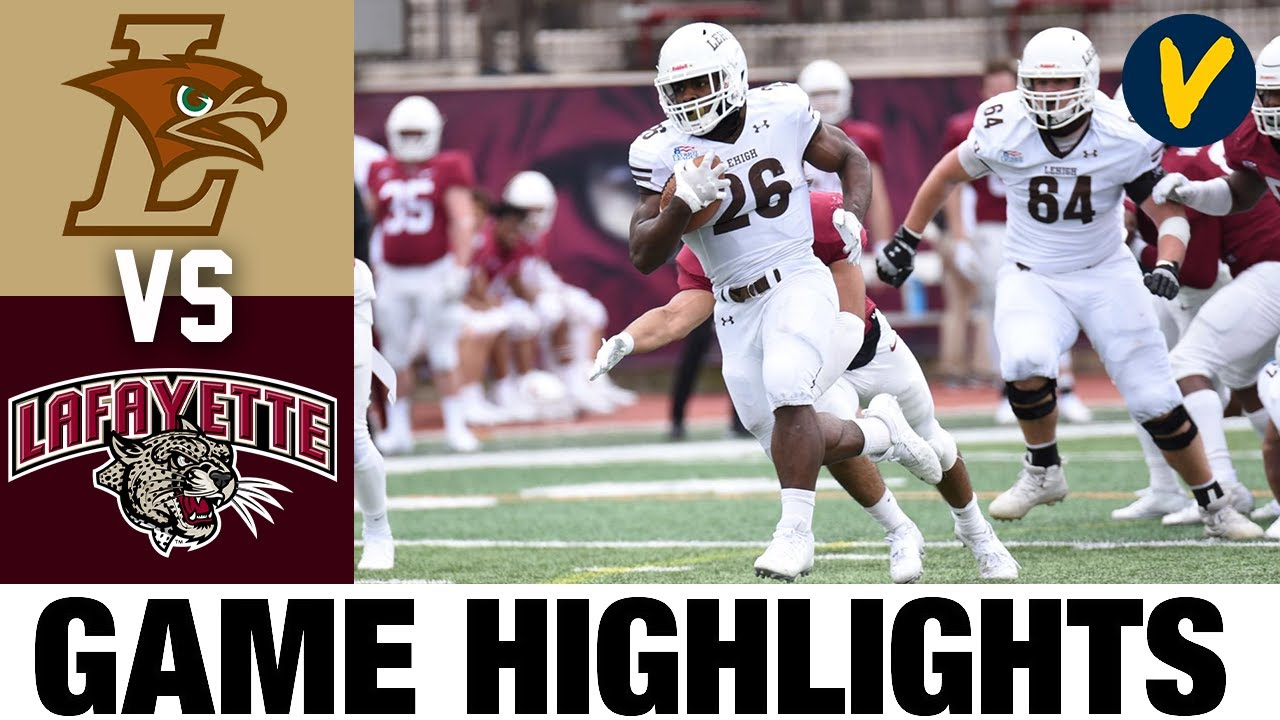 Lehigh vs Lafayette Highlights | FCS 2021 Spring College Football Highlights