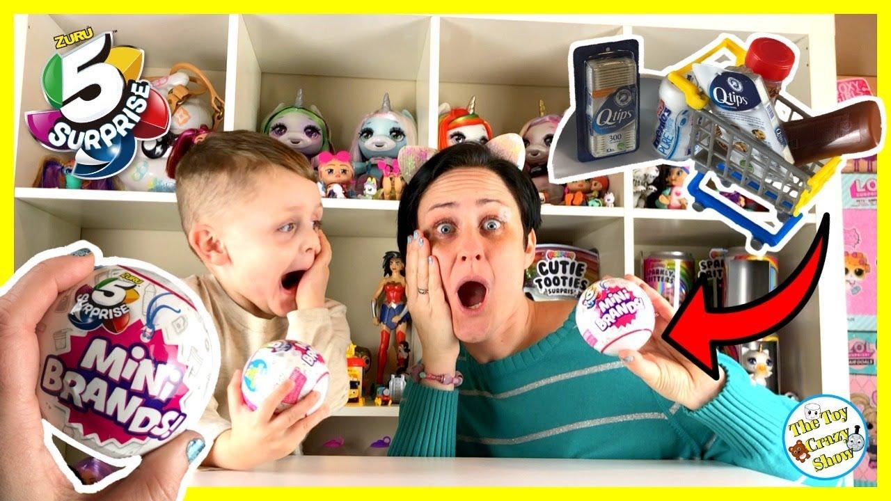 New Zuru 5 Surprise Mini Brands Mini Pretend Food Toys The Toy