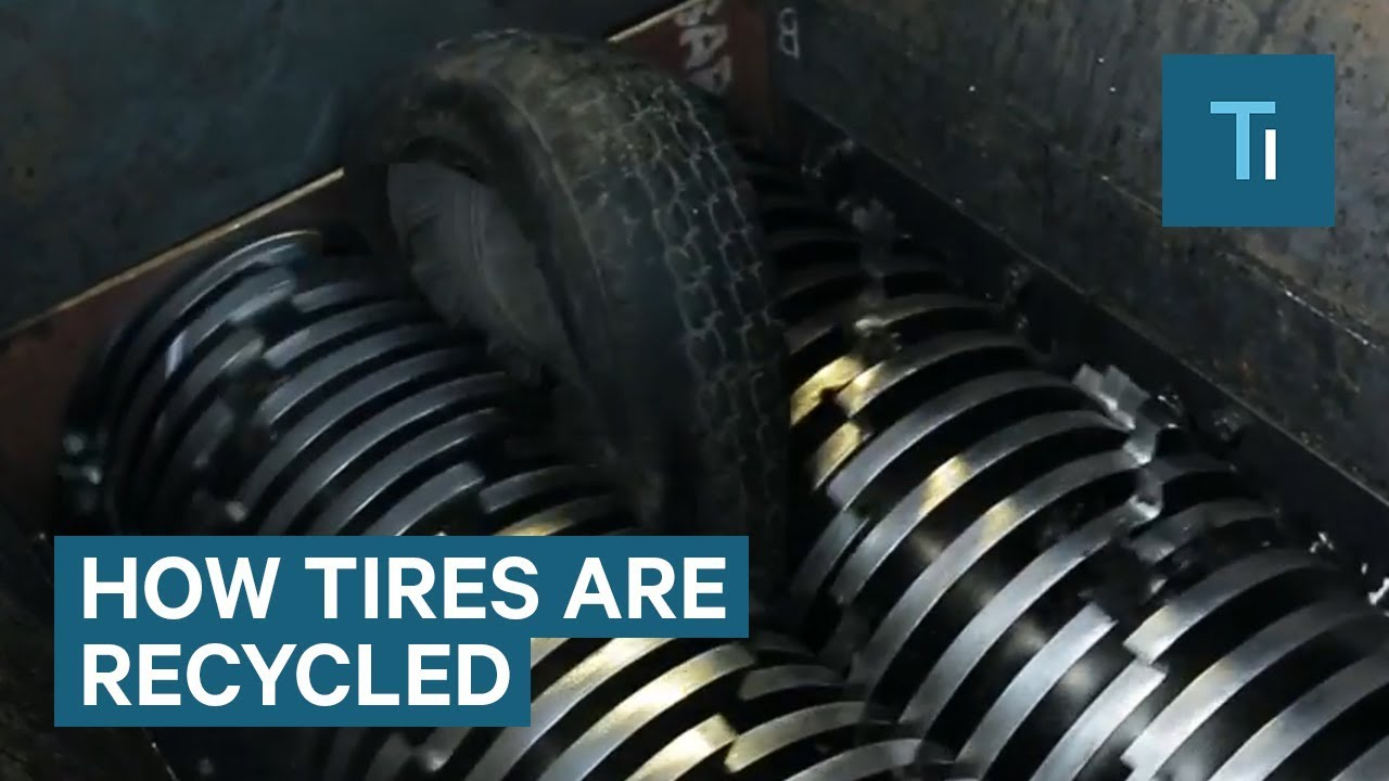 How Tires Are Recycled Into Material