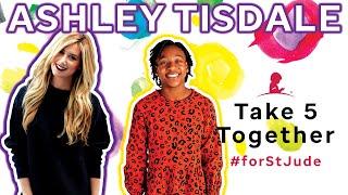 Ashley Tisdale Surprises a St. Jude Patient  · Take 5 Together