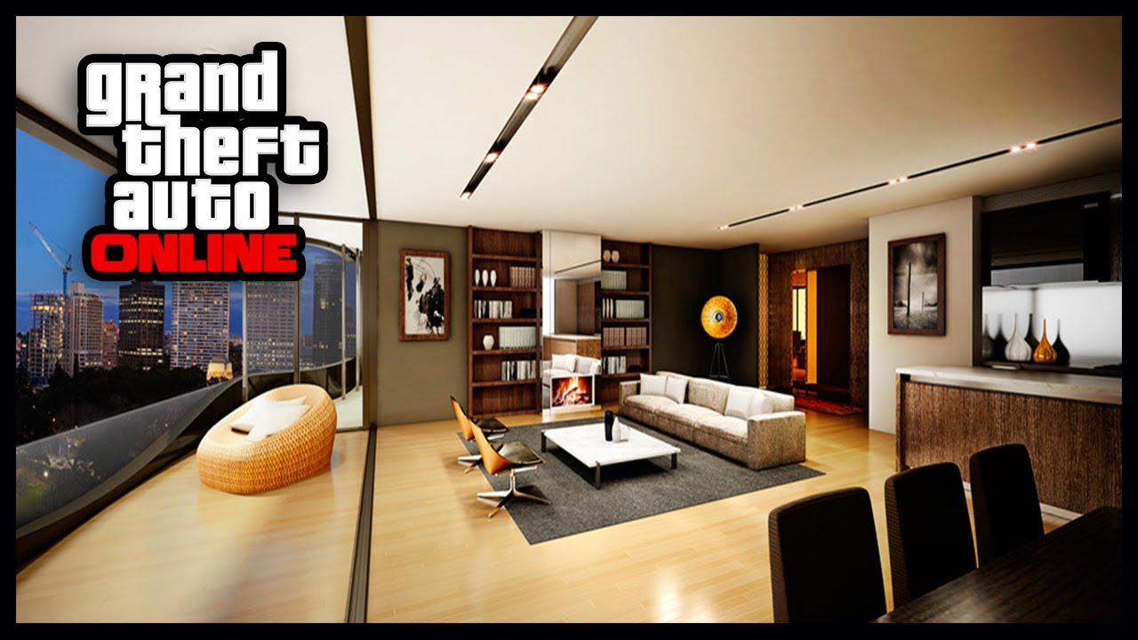 GTA 5 Online - High Life Apartment Tour - Best Apartment ...