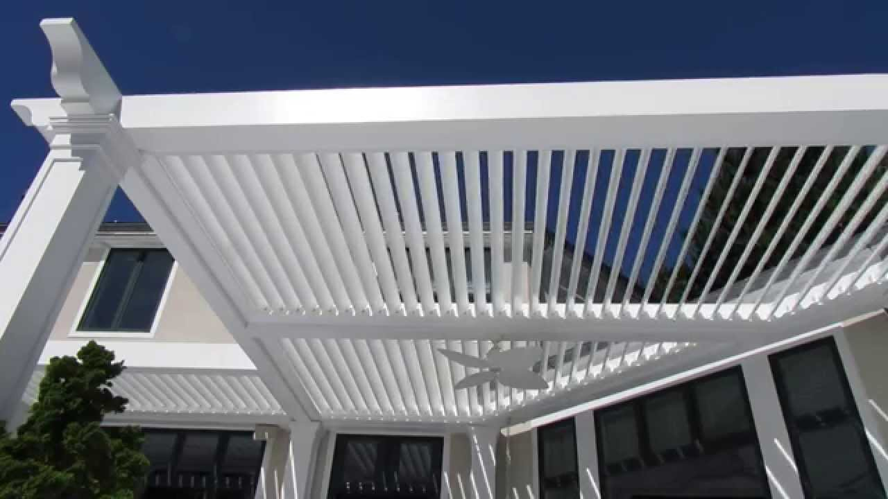 Captivating Motorized Louvered Roof System 1   YouTube