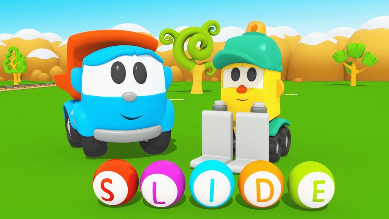 Cartoni animati per bambini leo junior alfabeto la lettera s