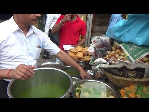 Dahi Samosa Chaat/ Khasta Kachori/ Momos || Best Delhi Street Food Compilation
