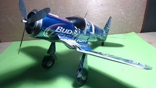 Avión hecho de latas tutorial (Airplane made with aluminum cans tutorial) thumbnail