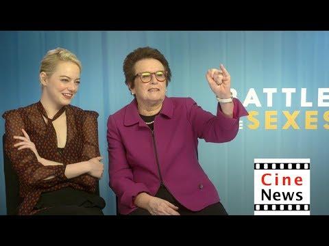 Battle of the Sexes – Interview: Emma Stone & Billie Jean King