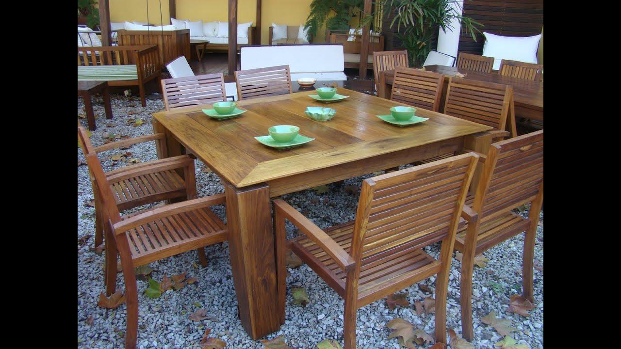 Mesas de madera del muebles de madera for Muebles buenos