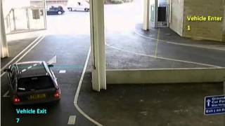 How to use GXI video analytics for Counting vehicles at car park entrance