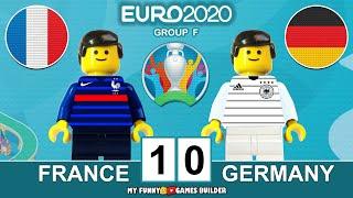 France vs Germany 1 0 EURO 2020 Group F All Gоals Extеndеd Hіghlіghts Lego Football