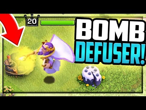 Grand Warden DEFUSING BOMBS! Clash of Clans Questions ANSWERED