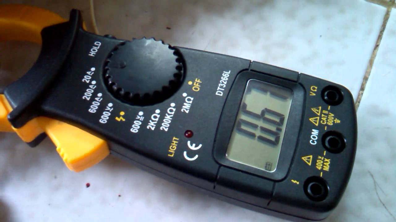 how to test a hid ballast with a multimeter