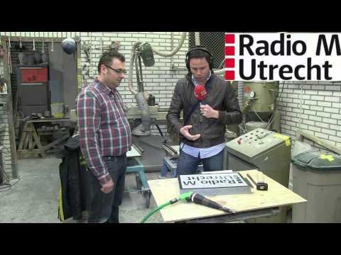 Radio M Utrecht bij v/d Velde Natuursteen Zeist