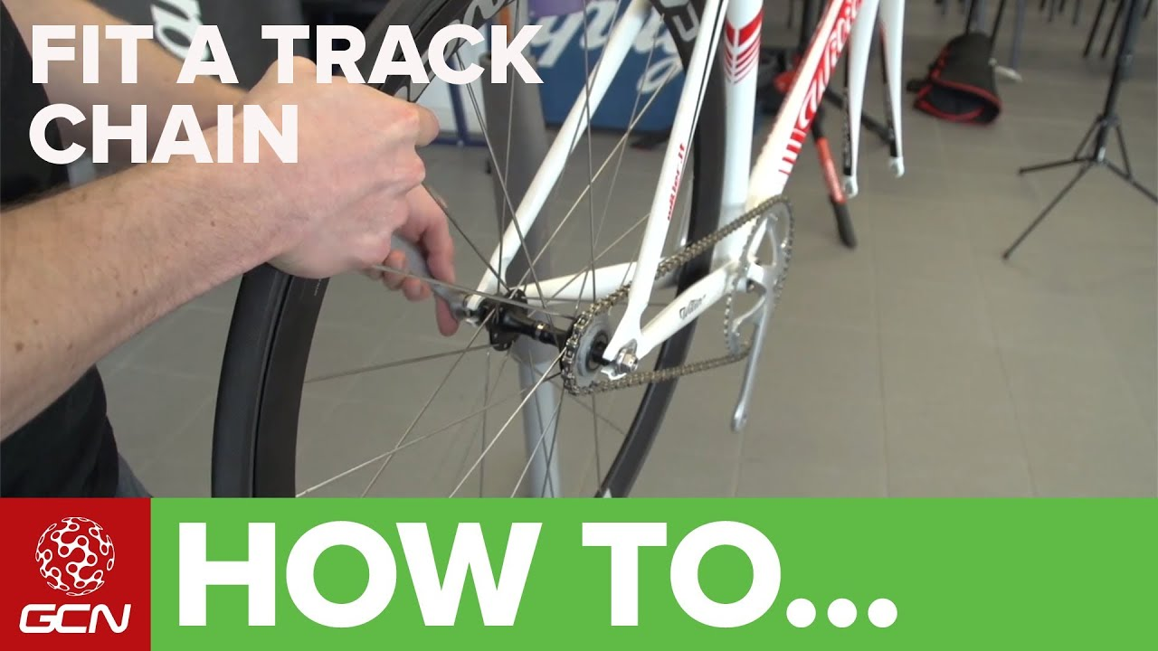 How To Fit A Track Chain Gcn S Maintenance Mondays Youtube