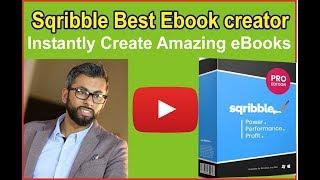 Sqribble Best Ebook creator -  Instantly Create Amazing eBooks