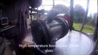 Homemade diesel Mk6 Turk-Retort miniature fuel refinery