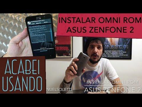 instalar OMNI rom no Asus ZenFone 2