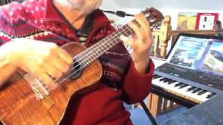 Dear Prudence - solo ukulele - Colin Tribe on LEHO