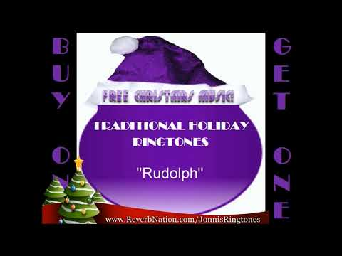"HOLIDAY RINGTONES: ""Rudolph The Red-nosed Reindeer"" (traditional)"