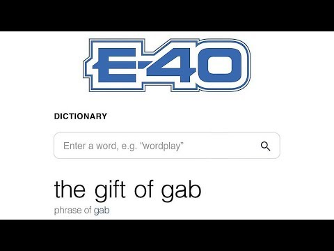 E-40 - Relax Ft. Problem (The Gift Of Gab)