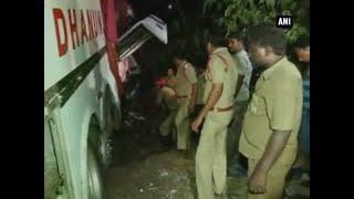 Six killed, 30 injured in road accident in Vijayawada