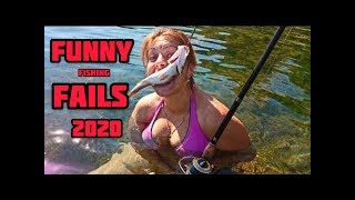 Funny Fishing Fails compilation 2020 try to not laugh приколы рыбалка 2020 приколы 2020 wedkarstwo