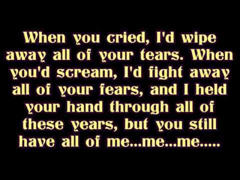"Evanescence - ""My Immortal"" lyrics"